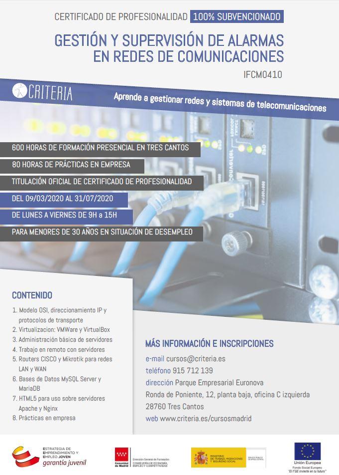 Técnico en Redes de Comunicaciones