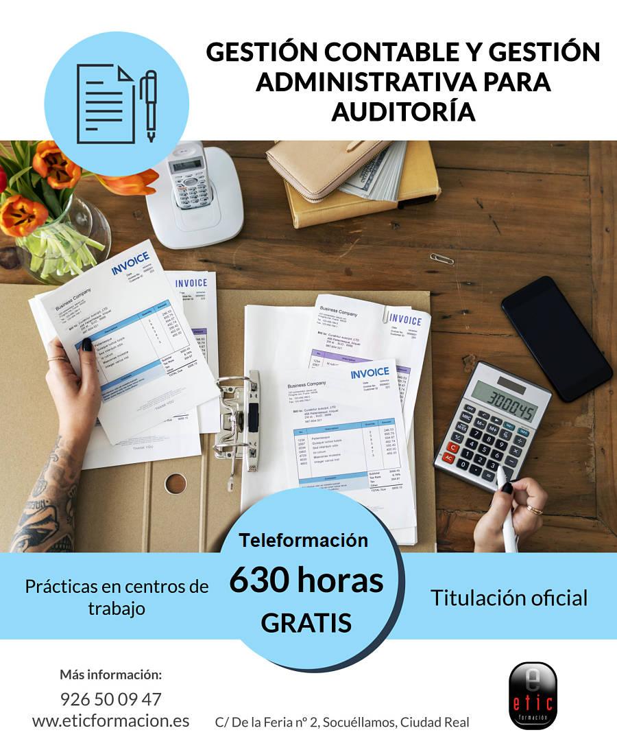 ADGD0108 - Gestión contable y gestión administrativa para auditoría