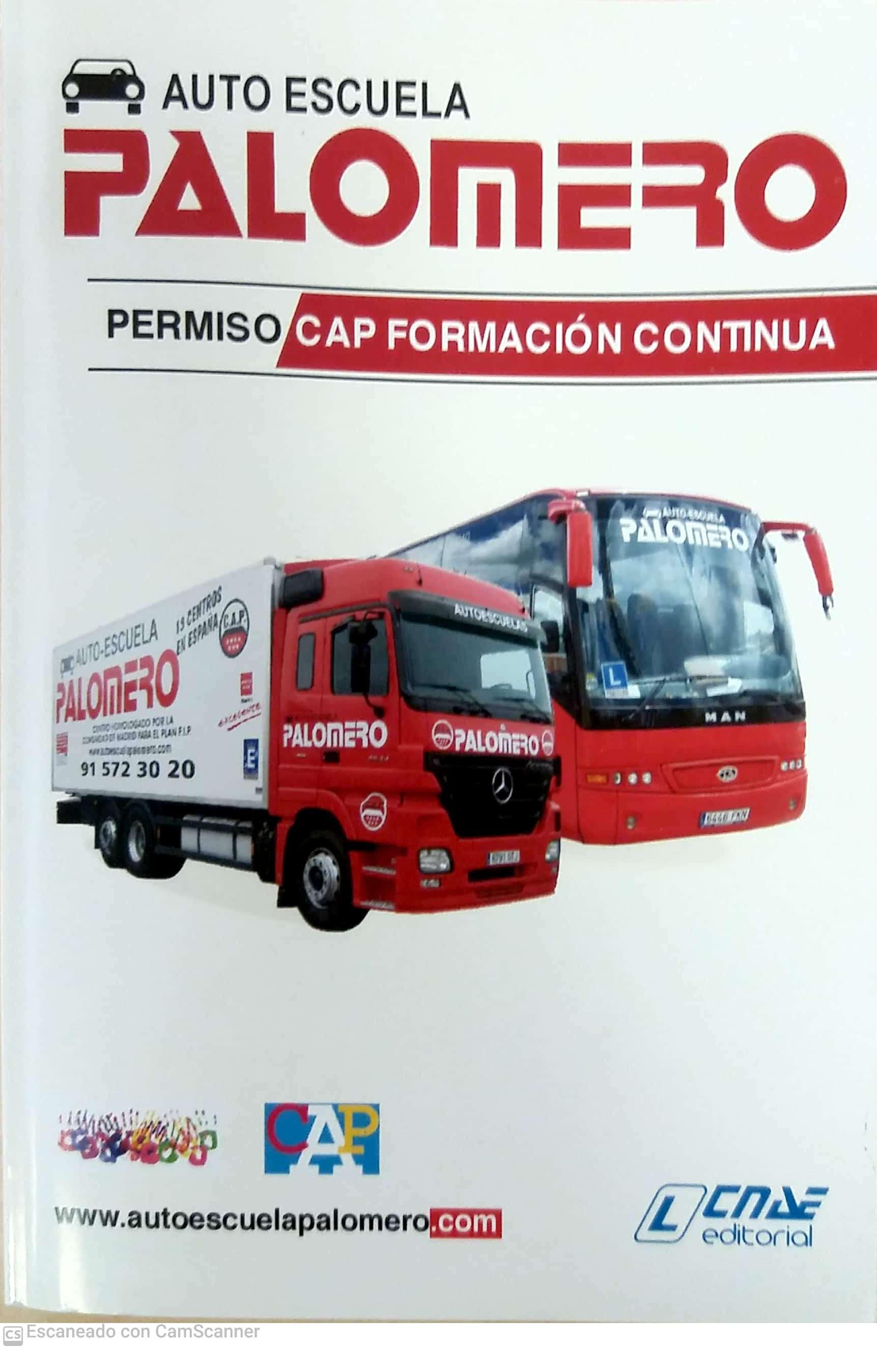 TMVI008PO - CERTIFICADO DE APTITUD PROFESIONAL (CAP) PARA CONDUCTORES - RENOVACIÓN