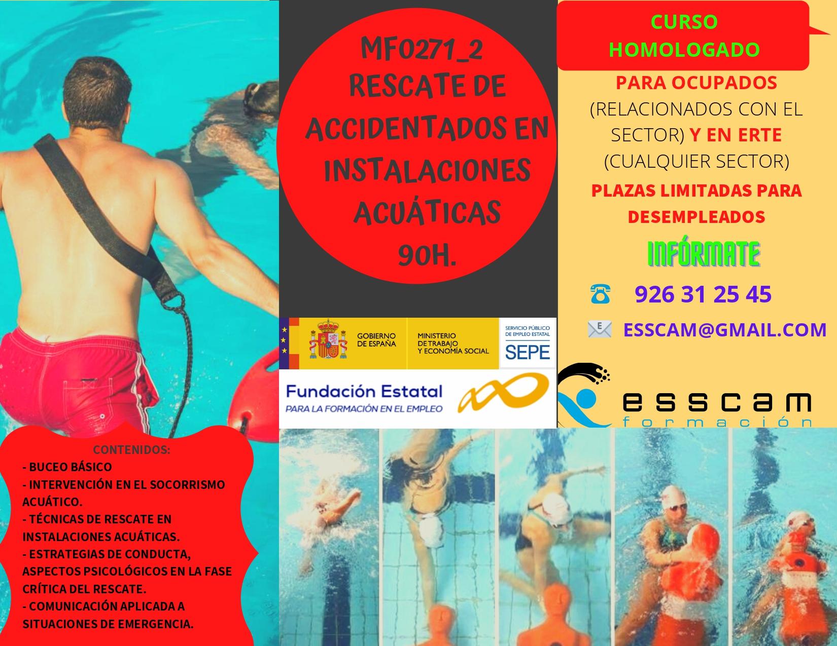 MF0271_2 - Rescate de accidentados en instalaciones acuáticas