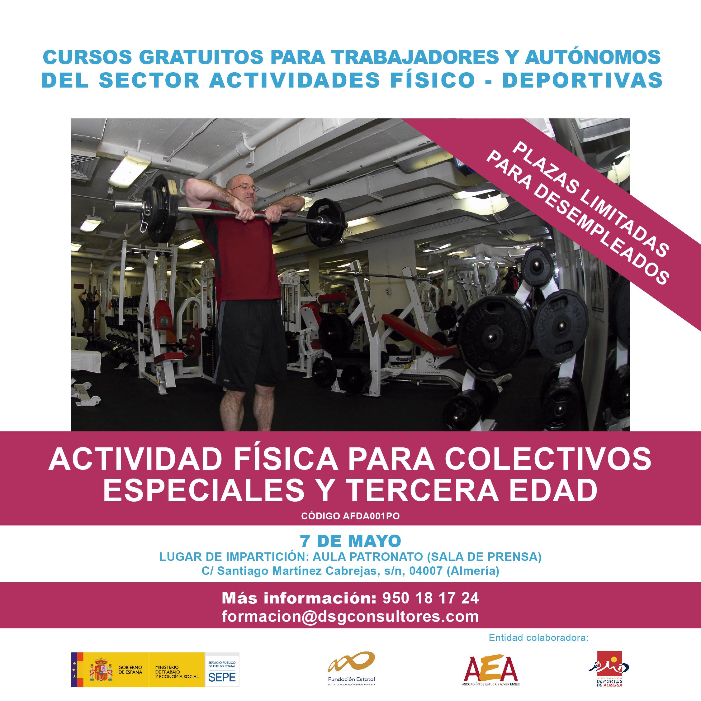 AFDA001PO - ACTIVIDAD FISICA PARA COLECTIVOS ESPECIALES Y TERCERA EDAD