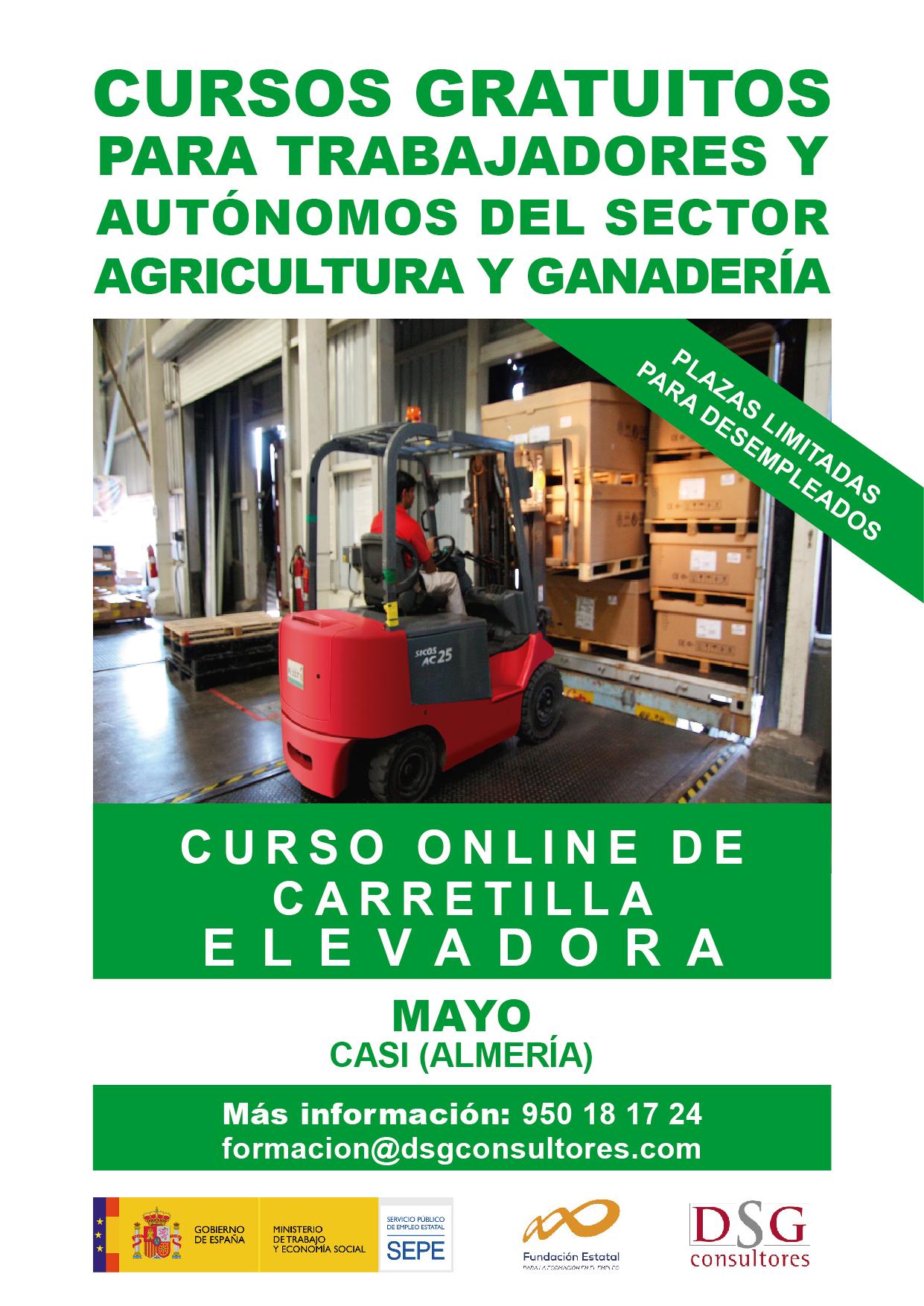 COML001PO - CONDUCCIÓN DE CARRETILLAS ELEVADORAS